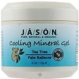 Jason Tea Tree Oil Therapeutic Mineral Gel, 4-Ounce Jars (Pack of 3)