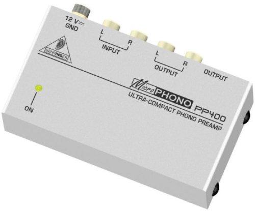 BEHRINGER PP400 phono préamplificateur pour platine
