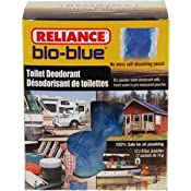 Amazon.com: Reliance Products Bio-Blue Toilet Deodorant Packaged (12-Pack): Sports & Outdoors