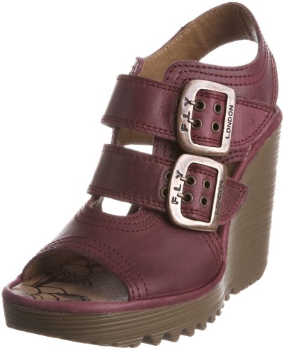 Fly London Women's Pecam Purple Wedges P500198002 6 UK