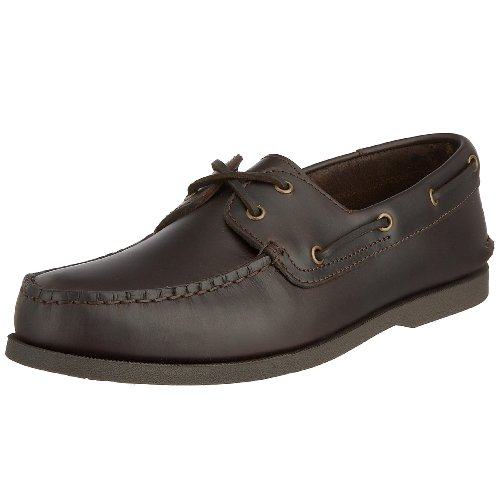 Rockport Men's Seaforthe Boat Shoe Leather Dark Brown K51853 15.5 UK