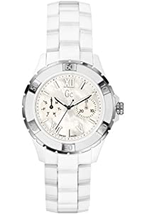 Buy Guess GUESS Gc Sport Class XL-S Glam Ceramic Automatic Ladies Watch X69001L1S by GUESS