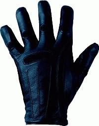 Bionic Men\'s Cashmere-Lined Dress Gloves, Black, Large