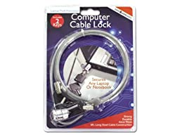 Computer cable lock