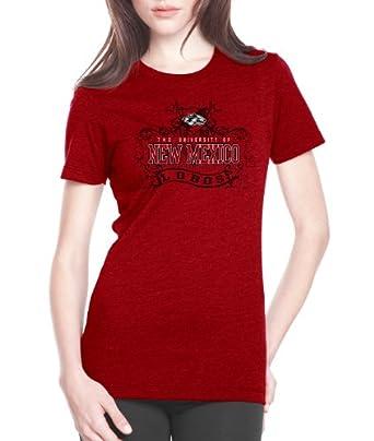 NCAA New Mexico Lobos Ladies Prius2 Long Body Classic T-Shirt by CI Sport