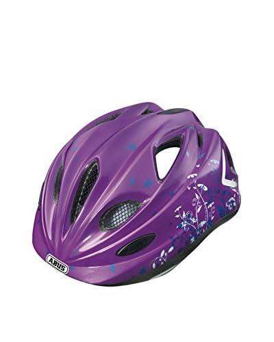 ABUS Casco da Bicicletta Super Chilly Viola 46-52 cm