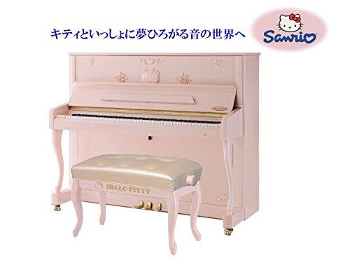 新品 アップライト ピアノ APOLLO / アポロ KTY-121WM Hellokitty piano / ハローキティ ピアノ