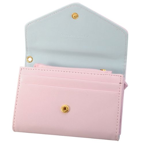 Girl Lady Fashion Wallet Coin Purse Pu Leather Crown Smart Phone Pouch