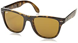 Ray-Ban RB 4105 Sunglass, Light Havana, 54 mm