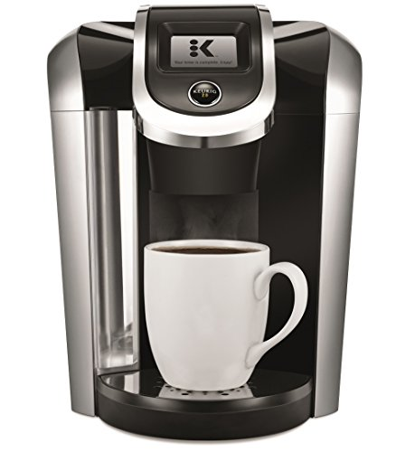 Keurig K475 Single Serve Programmable K- Cup Pod Coffee Maker with 12 oz brew size and temperature control, Black (Keurig Plastic K Cup compare prices)