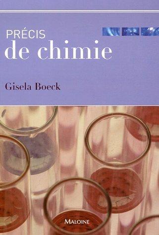 Précis de chimie (French Edition)