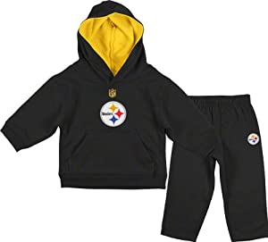 Pittsburgh Steelers Infant Toddler Gameday Performance Hoodie & Pant Set by NFL-Kids