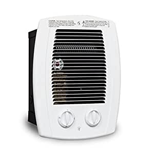 Cadet Cbc103tw Com Pak Bath 1000 Watt 120 240v Wall Heater With Thermostat And Timer White