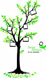 UberLyfe Roommates Family Photo Tree Wall Sticker (Wall Covering Area: 150cm x 89cm)