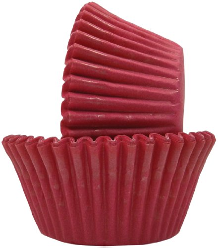 Regency Patisserie Greaseproof Baking Cups 40 Standard Sized Solid Hot Pink (Solid Color Baking Cups compare prices)