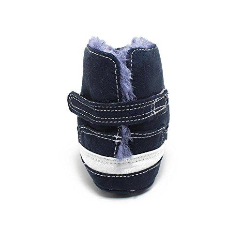 Itaar Baby Boots Soft Fur Winter Warm Unisex Infant Toddler Fleece Shoes