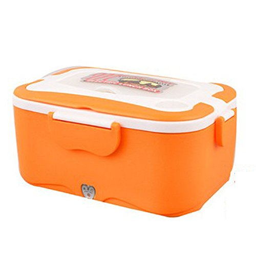 coffled 220v electric heating bento lunch box 24v in vehicle bpa free plastic food storage. Black Bedroom Furniture Sets. Home Design Ideas
