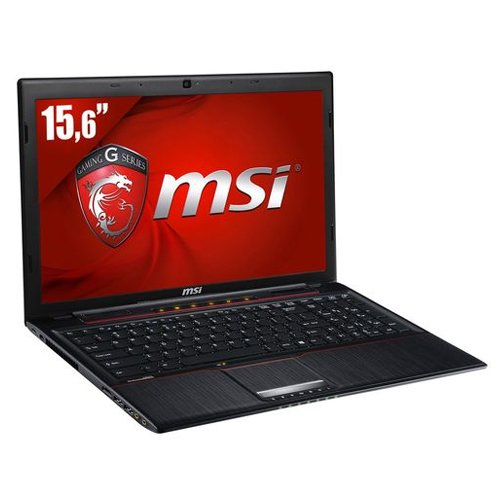 MSI GP60 2PE Leopard-047XFR Ordinateur portable 15,6″ (39,62 cm) Intel Core i5 4200H 2,8 GHz 500 Go 4 Go Nvidia GeForce 840M Noir
