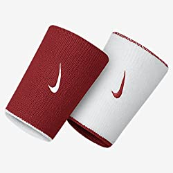 Nike Dri-FIT Home/Away Double-Wide Reversible Wristbands (Pack of 2)