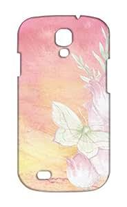 Samsung Galaxy S4 Floral Print Design Mobile Case Hard Back Cover for girls - Printed Designer Cover - SGS4FLRLB110