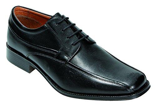 klondike-chaussures-de-ville-a-lacets-pour-homme-noir-schwarz-extraweit-noir-schwarz-extraweit-46