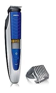 Philips Series 5000 Bartschneider BT5270/32, 17 Längeneinstellungen, blau/silber