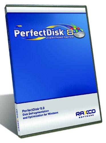 Perfectdisk 8 Pro 10-Pack Lic   Defrag Win Vista/Xp/2000 Os Raxco