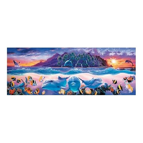 Master Pieces Tropic Dolphins 500 Piece Jigsaw Puzzle