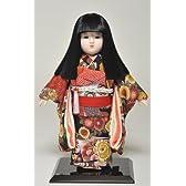 12号市松人形:縮緬衣装(オカッパ):京華作