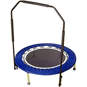 Urban Rebounder Folding Trampoline Workout System