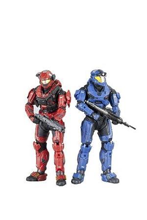 McFarlane Toys Halo Reach Series 3 Spartan Loadouts - Grenadier And Expert Marksman 2 Pack by McFarlane Toys TOY (English Manual)