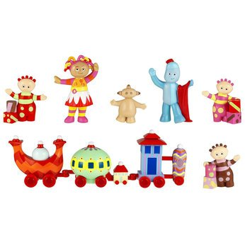Playskool, In The Night Garden, Ninky Nonk Train with Iggle Piggle, Upsy Daisy, Makka Pakka and Tombliboos Figures
