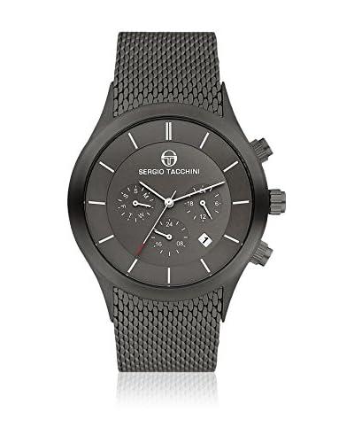 Sergio Tacchini Reloj de cuarzo Man Gris Oscuro 43 mm