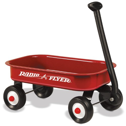 Radio Flyer Little Red Wagon (Discontinued by manufacturer) (Mini Red Wagon Radio Flyer compare prices)