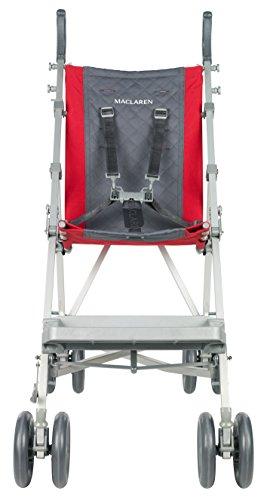 Maclaren Major Elite Stroller, Cardinal/Charcoal