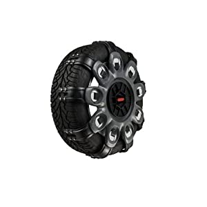 spikes spider compact snow chains 1x pair size 4 car motorbike. Black Bedroom Furniture Sets. Home Design Ideas