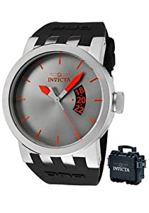 Invicta Men's 10402BBB DNA Urban Gunmetal Dial Black Silicone Watch