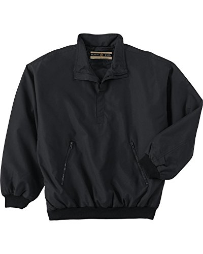 Mens Micro Plus Half-Zip Windshirt With Teflon