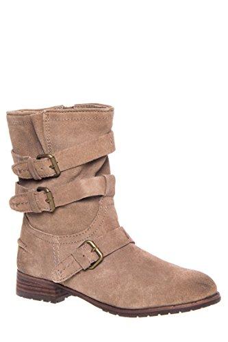 Ferin Buckle Low Heel Boot
