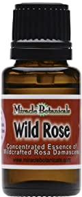 Wild Rose Oil - Undiluted Essence of Rosa Damascena 15ml (.5oz)