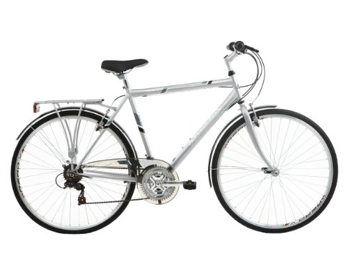 Kingston Men's Sloane City Bike - Silver, 22 Inch