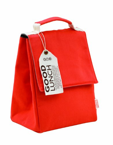 ORE Originals Good Lunch Sack, Rusty Red