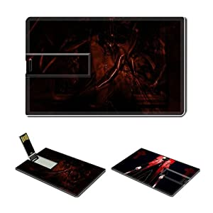 4GB USB Flash Drive USB 2.0 Memory Credit Card Size Anime Hellsing Comic Game Customized Support Services Ready Alexander Anderson 001