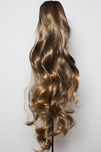 22-ponytail-wavy-dark-brown-dark-blonde-tips