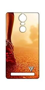 Vogueshell Runner Printed Symmetry PRO Series Hard Back Case for Lenovo K5 Note