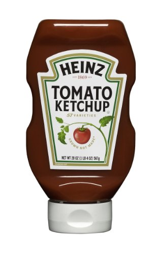 Heinz Tomato Ketchup, 20 Ounce Bottles (Pack Of 6) front-656541