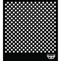 Bulk Buy: Prima Marketing (3-Pack) Sunrise Sunset Designer Stencil 6\'X6\' Checker 960179