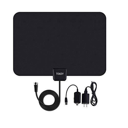 50 Mile Range Digital HD TV Antenna with Amplifier 10ft Coax Cable 30 Days (Tv Digital compare prices)