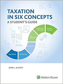 Taxation In Six Concepts: A Student's Guide