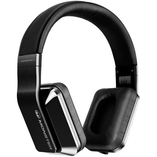 Monster Inspiration Noise Isolating Headphones (Black)